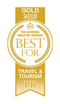 Gold Award for Travel & Tourism PR