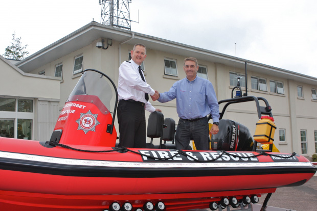 Devon and Somerset Fire & Rescue Service confident that new Ribcraft will train its teams for any future flood emergencies